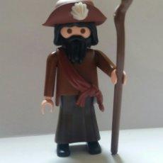 Playmobil: PLAYMOBIL PEREGRINO SANTIAGO PASTOR MONJE CURA SACERDOTE RELIGIOSO BELEN. Lote 228268635