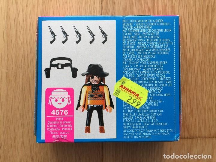 Playmobil: PLAYMOBIL NUEVO SPECIAL 4576 BANDIDO WESTERN OESTE DESCATALOGADO CAJA CERRADA - Foto 2 - 89696440