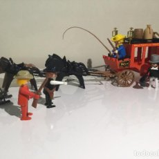 Playmobil: FAMOBIL PLAYMOBIL - DILIGENCIA REF. 3245 + CABALLOS Y COMPLEMENTOS EXTRA.. Lote 92054595