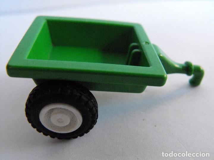 Playmobil remolque peque o de tractor granja comprar for Playmobil segunda mano
