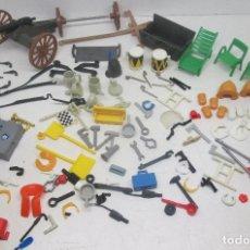 Playmobil: PLAYMOBIL ÉPOCA FAMOBIL, LOTE COMPLEMENTOS Y ACCESORIOS, DIFERENTES TEMAS. Lote 92430213