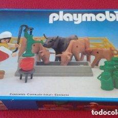 Playmobil: PLAYMOBIL 3499 NUEVO CAJA CERRADA SIN ABRIR ANTIGUO GRANJA VACAS TOROS JU. Lote 94035115