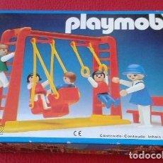 Playmobil: PLAYMOBIL 3552 NUEVO CAJA CERRADA SIN ABRIR ANTIGUO NIÑOS COLUMPIOS JU. Lote 94036240
