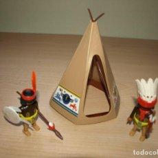Playmobil: FIGURA DOS INDIOS MAS TYPI - PLAYMOBIL. Lote 94154680