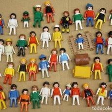 Playmobil: LOTE SURTIDO DE 39 FIGURAS PLAYMOBIL CON NIÑOS. AÑOS 70-80. Lote 131707833