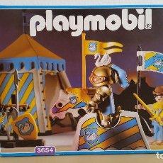 Playmobil: PLAYMOBIL 3654 CABALLERO CON TIENDA DE TORNEO **NUEVO A ESTRENAR** - RSG - MEDIEVAL. Lote 94975991