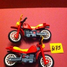 Playmobil: LOTE PLAYMOBIL MOTOS (Ñ75). Lote 103720455