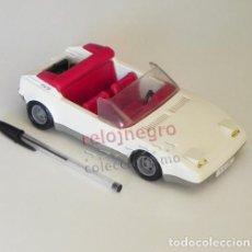 Playmobil: COCHE DESCAPOTABLE - DE PLAYMOBIL - AÑOS 80 - BLANCO - JUGUETE - CLIC - TRANSPORTE - 1987 GEOBRA. Lote 95104351