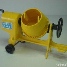Playmobil: HORMIGONERA ANTIGUA PLAYMOBIL OBRA CONSTRUCCION ALBAÑIL CEMENTO OBRERO. Lote 95603503
