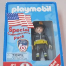 Playmobil: PLAYMOBIL REF.3354 EDICIÓN LIMITADA CONMEMORATIVA FDNY PACK COMMEMORATIVO EN CAJA SELLADA. Lote 95779135
