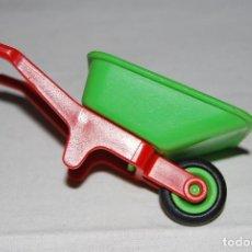 Playmobil: PLAYMOBIL . CARRETILLA GRANJA ZOO. VERDE ROJA. 3716 3634 3639. OFERTA. Lote 96039071
