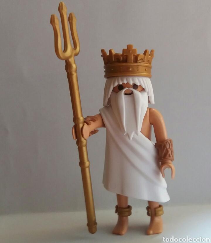 PLAYMOBIL PERSONAJES DE LA HISTORIA NEPTUNO DIOS DEL MAR (Juguetes - Playmobil)