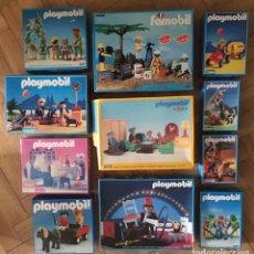 Playmobil: LOTE 10 CAJAS PLAMOBIL Y 1 FAMOBIL. Lote 96449032