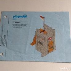 Playmobil: PLAYMOBIL INSTRUCCIONES ORIGINALES CONTENIDO CARCEL 3859 PIRATA BARCO PIRATAS PIEZAS. Lote 96514339