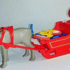 Playmobil: PLAYMOBIL. FIGURAS. PAPA NOEL. TRINEO. . Lote 96933811