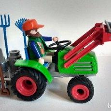 Playmobil: PLAYMOBIL TRACTOR VERDE REFERENCIA 4143 GRANJA COUNTRY. Lote 97516039
