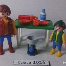 Playmobil: PLAYMOBIL PADRE E HIJO CAMPING CAMPO CIUDAD (ZCETA). Lote 97642519