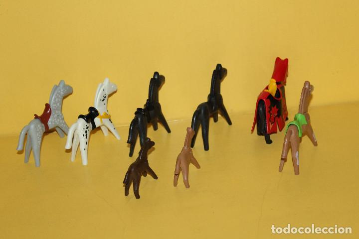Playmobil: PLAYMOBIL LOTE DE CABALLOS - GEOBRA - 1986 /1974 - Foto 2 - 97782903