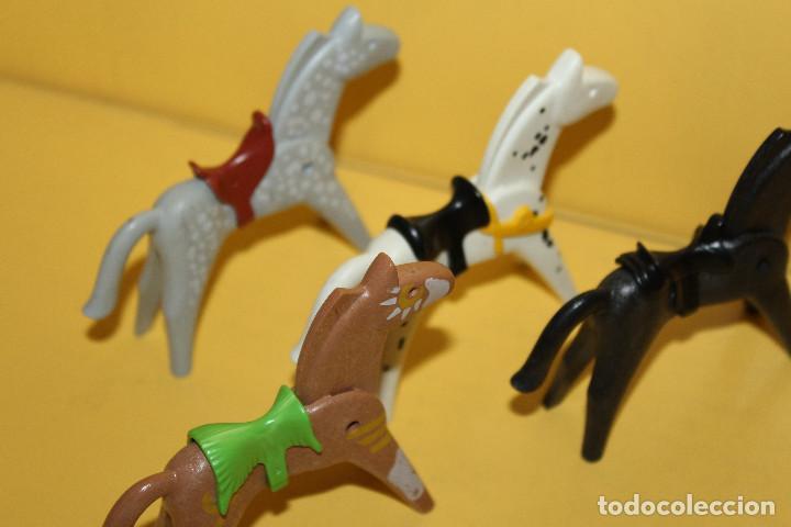 Playmobil: PLAYMOBIL LOTE DE CABALLOS - GEOBRA - 1986 /1974 - Foto 3 - 97782903