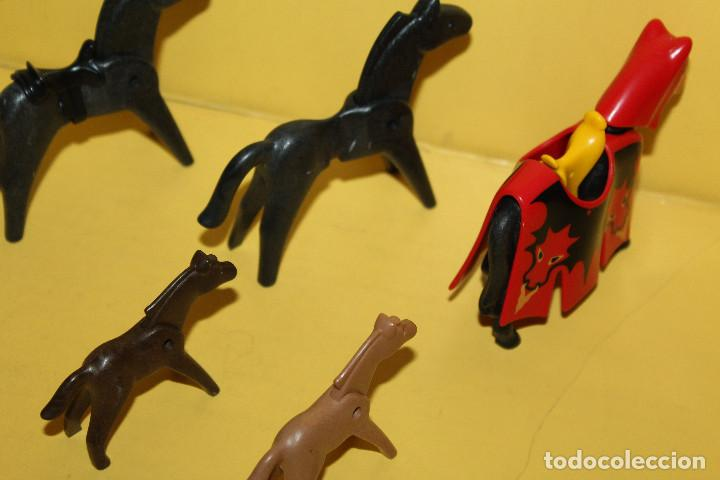 Playmobil: PLAYMOBIL LOTE DE CABALLOS - GEOBRA - 1986 /1974 - Foto 4 - 97782903