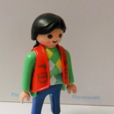 Playmobil: PLAYMOBIL C107 FIGURA PERSONAJE MUJER JOVEN IDEAL COMPLETAR ESCENAS COTIDIANAS. Lote 97880639