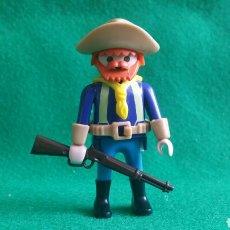 Playmobil: PLAYMOBIL SOLDADO NORDISTA PELIRROJO CABALLERÍA FORT EAGLE OESTE. Lote 98033447