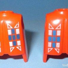 Playmobil: PLAYMOBIL LOTE DE DOS CUERPOS TORSOS ROJOS INDIOS OESTE PRIMERA ÉPOCA. Lote 98811067