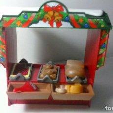 Playmobil: PLAYMOBIL. ACCESORIOS. PUESTO DE VIANDAS Y PANADERIA. BELEN. NAVIDAD. . Lote 98896007