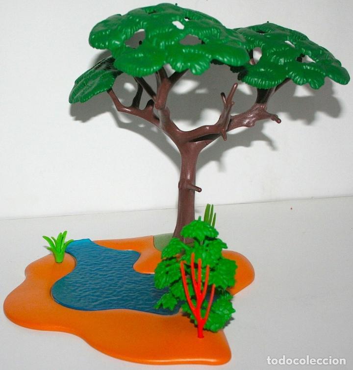 PLAYMOBIL MEDIEVAL TERRENO CON ARBOL (Juguetes - Playmobil)