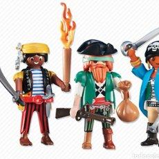 Playmobil: LOTE FIGURAS PLAYMOBIL PIRATAS REF 6434 NUEVOS EN BOLSA SELLADA MUÑECOS. Lote 99702810