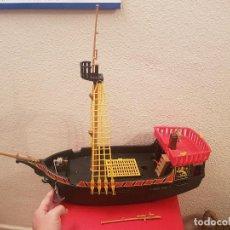 Playmobil: BARCO PIRATA ANTIGUO PLAYMOBIL CORSARIO PIRATAS 3750 REF GALEON INGLES . Lote 100465931