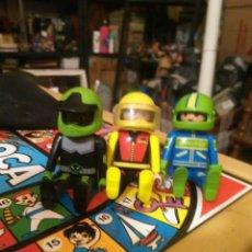 Playmobil: LOTE DE 3 FIGURAS PLAYMOBIL PILOTO. Lote 101015011