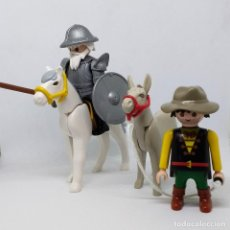 Playmobil: PEPYPLAYS PLAYMOBIL CUSTOM DON QUIJOTE MANCHA CON SANCHO PANZA CERVANTES. Lote 101045447