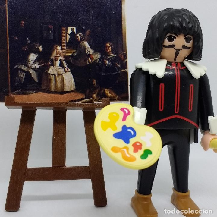 PLAYMOBIL CUSTOM VELÁZQUEZ CON MENINAS BARROCO ESPAÑOL (Juguetes - Figuras de Acción - Playmobil)