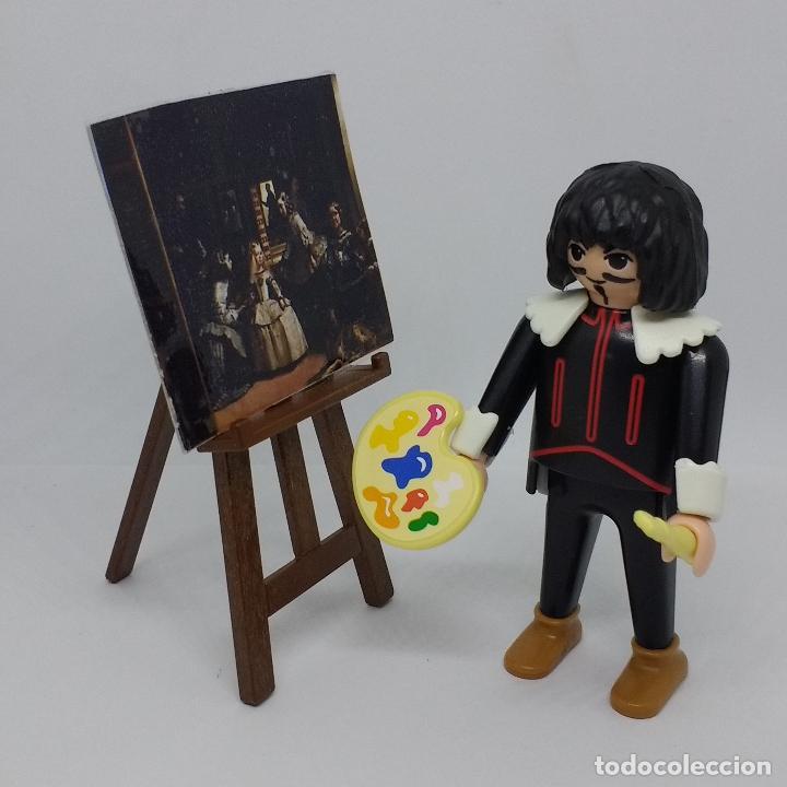 Playmobil: PLAYMOBIL CUSTOM VELÁZQUEZ CON MENINAS BARROCO ESPAÑOL - Foto 4 - 101045659