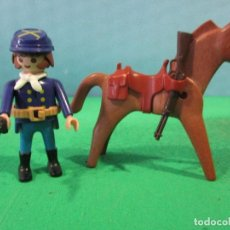 Playmobil: PLAYMOBIL-OESTE-SOLDADO NORDISTA-SUDISTAS-FORT. Lote 110051631