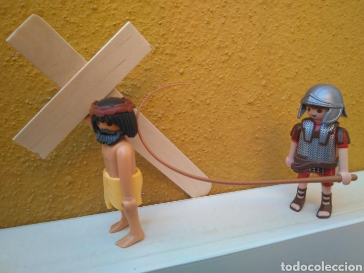 PLAYMOBIL HISTORIA JESUS JESUCRISTO Y ROMANO SEMANA SANTA BELEN PASTOR MONJE RELIGIOSO CURA (Juguetes - Playmobil)