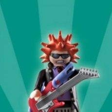 Playmobil: PLAYMOBIL SERIE 2 CANTANTE ROCK POP MÚSICA MÚSICO FIGURA MUÑECO SOBRE SORPRESA. Lote 101476934
