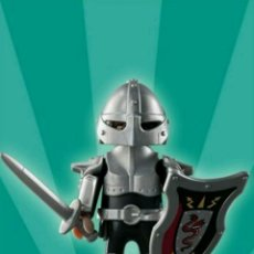 Playmobil: PLAYMOBIL SERIE 2 CABALLERO MEDIEVAL FIGURA MUÑECO SOBRE SORPRESA. Lote 101477468