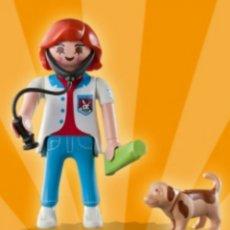 Playmobil: PLAYMOBIL SERIE 2 CHICA VETERINARIA FIGURA MUÑECO SOBRE SORPRESA. Lote 101478084