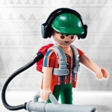 Playmobil: PLAYMOBIL SERIE 10 JARDINERO FIGURA MUÑECO SOBRE SORPRESA. Lote 101484812