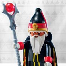 Playmobil: PLAYMOBIL SERIE 10 HECHICERO BRUJO FIGURA MUÑECO SOBRE SORPRESA. Lote 101485480