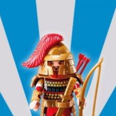 Playmobil: PLAYMOBIL SERIE 5 GUERRERO CON ARCO FIGURA MUÑECO SOBRE SORPRESA. Lote 101514795