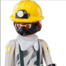 Playmobil: PLAYMOBIL SERIE 5 MINERO FIGURA MUÑECO SOBRE SORPRESA. Lote 101514868