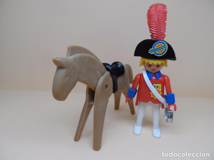 FAMOBIL SOLDADO INGLÉS OFICIAL (Juguetes - Playmobil)