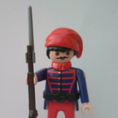Playmobil: PLAYMOBIL ZUAVO NORDISTA SUDISTA CONFEDERADOS SUDISTAS GUERRA CIVIL USA. Lote 289849318