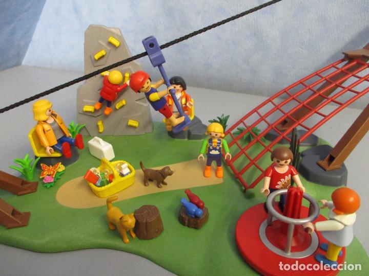 Lote Zona Niños Casa Piezas Juegos Varios Playmobil Parque Enorme Tirolina uPkZOXi