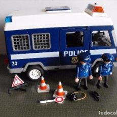 Playmobil: PLAYMOBIL. FURGONETA DE LA POLICIA. REF. 3166.. Lote 102256799