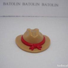 Playmobil: PLAYMOBIL SOLO OESTE INDIOS SOMBRERO GORRO WESTERN. Lote 238624195