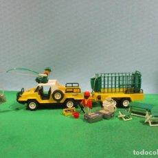 Playmobil: PLAYMOBIL-REF-3189 + 3528 - SAFARI NGORONGORO-SAFARI-SELVA. Lote 102972095